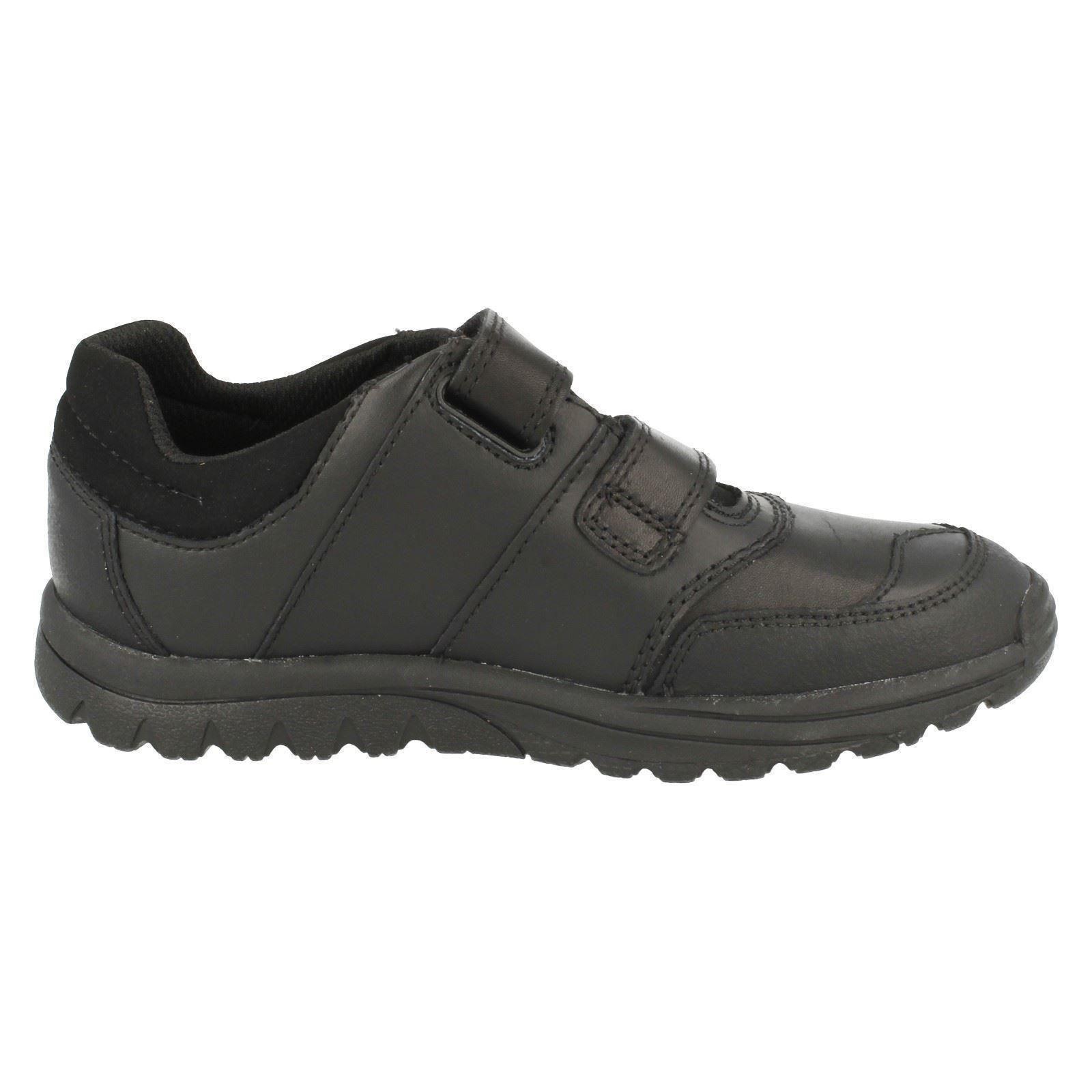 Boys Clarks Smart Hook & Loop School Shoes Jack Spring