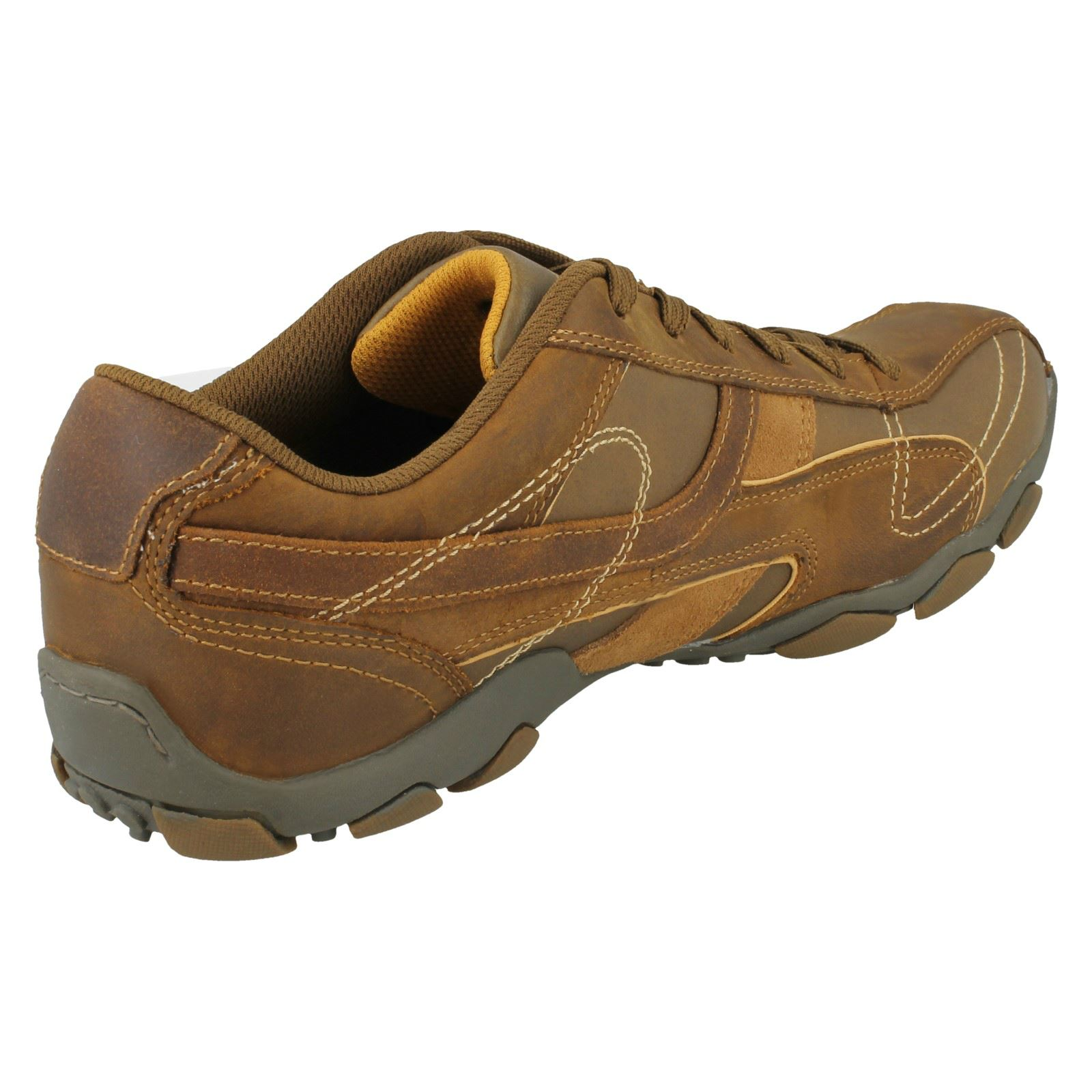 Mens Skechers Lace Up Shoe Diameter - Torino