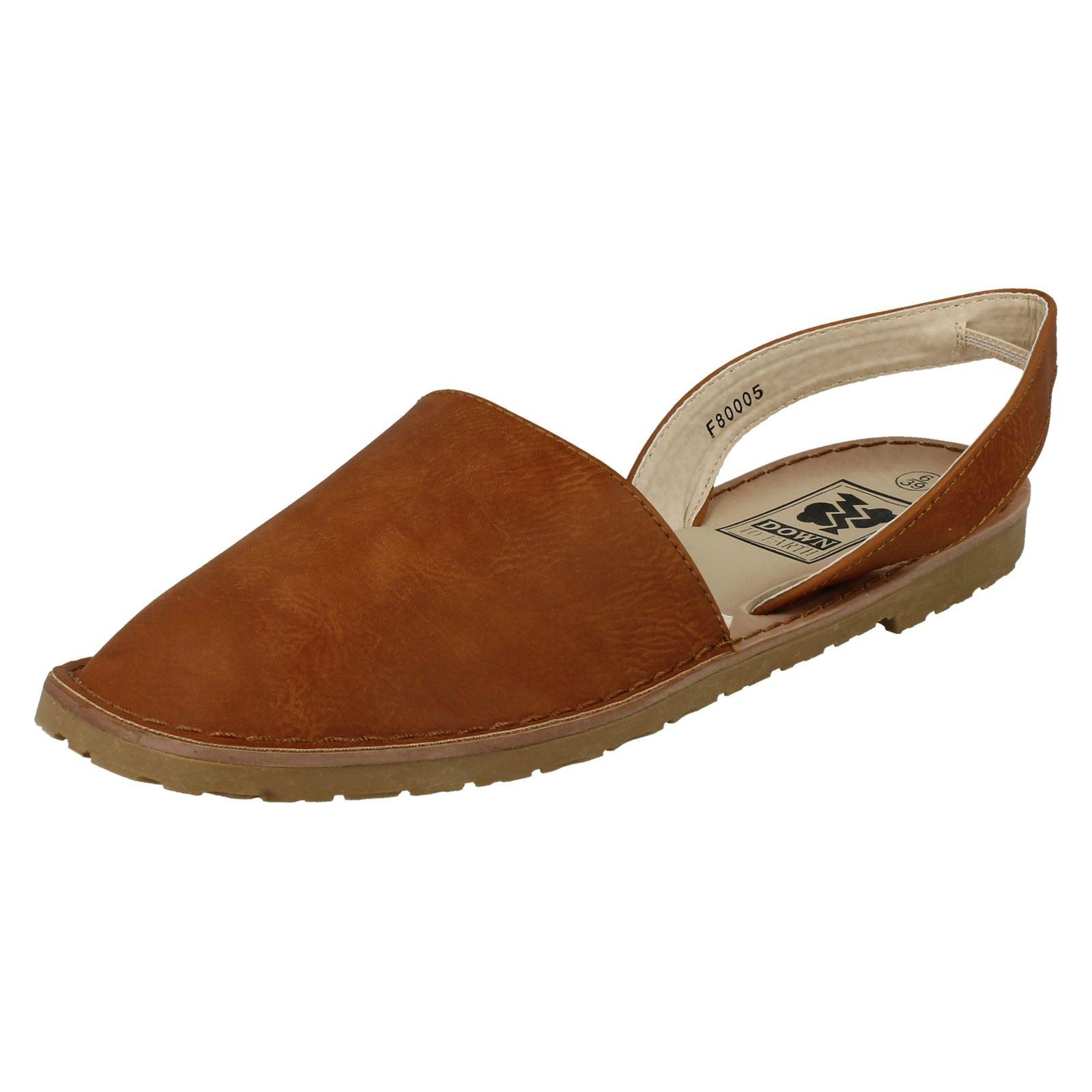 womens to earth f80005 closed toe slingback mule ebay