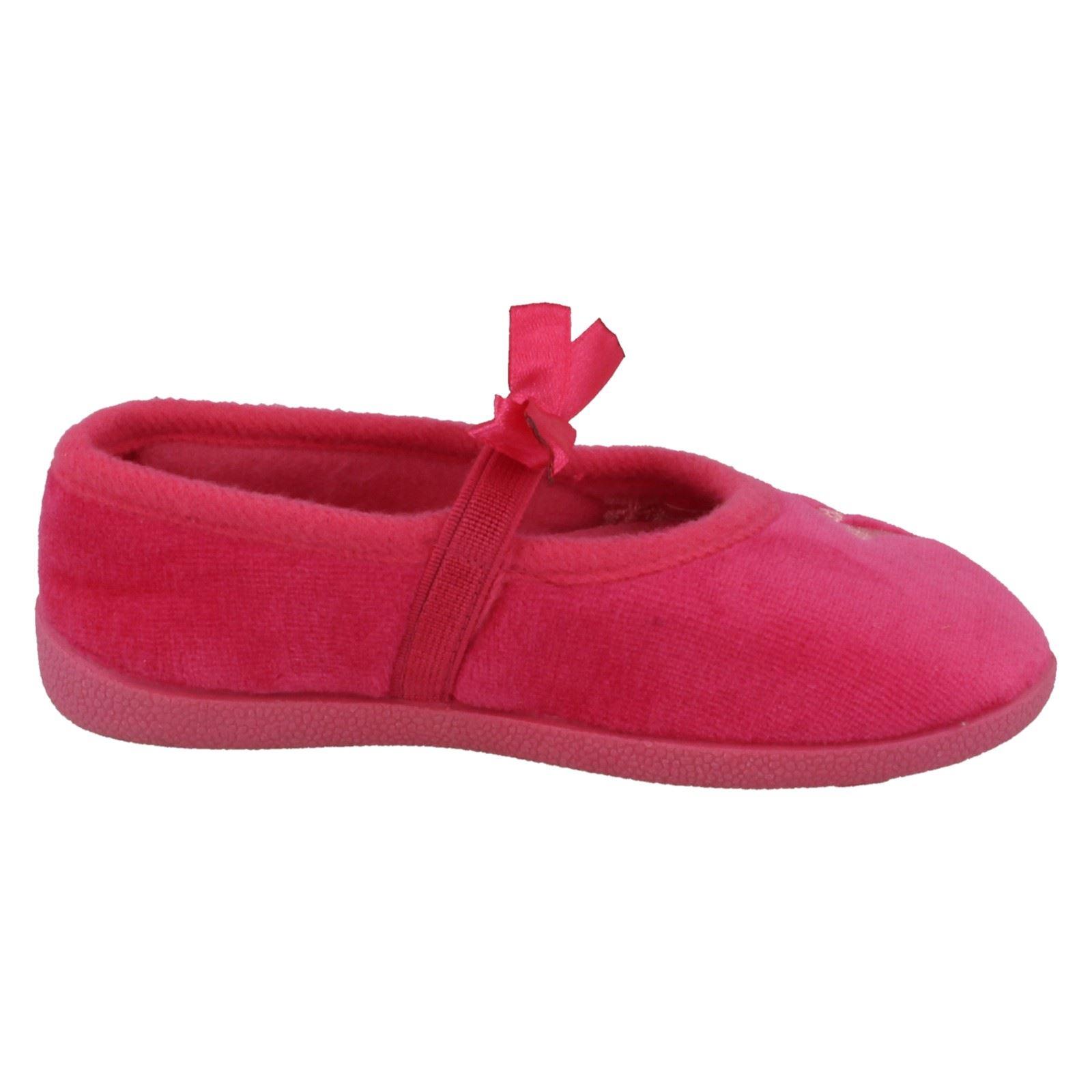 Infantil Niñas Zapatillas Con Mariposa Costura Punto en