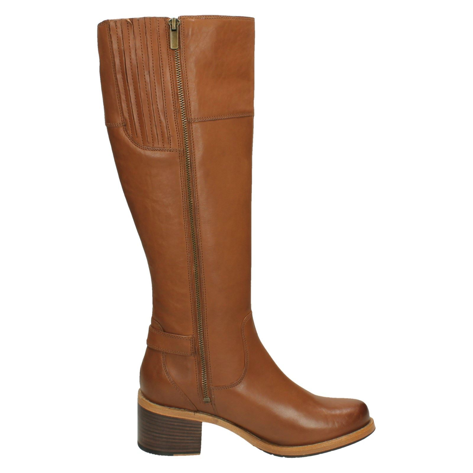 Ladies Clarks Heeled Knee High Boots Boots Boots 'Clarkdale Sona' b1ce67