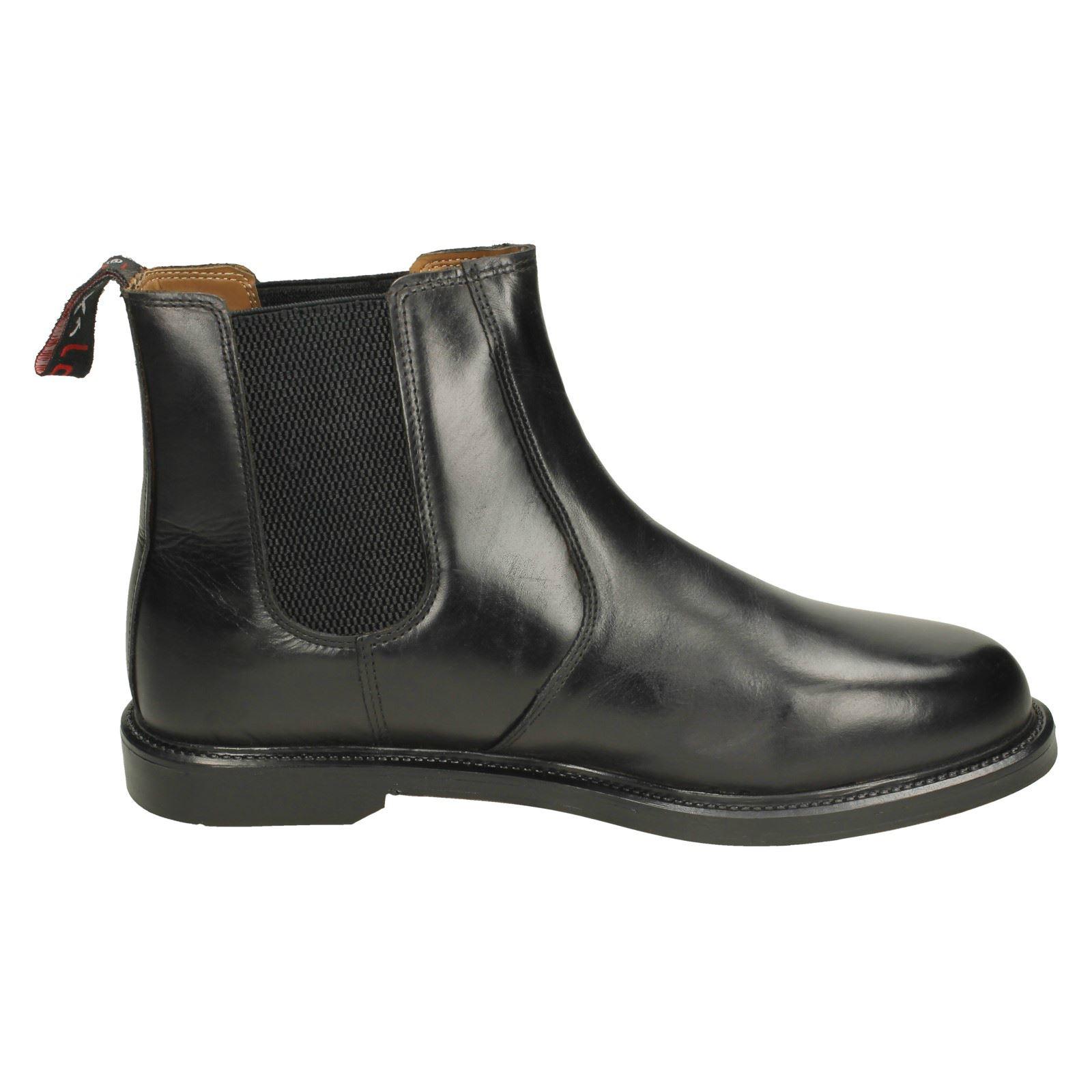 'Mens HX London' Slip On Ankle Boots HX05