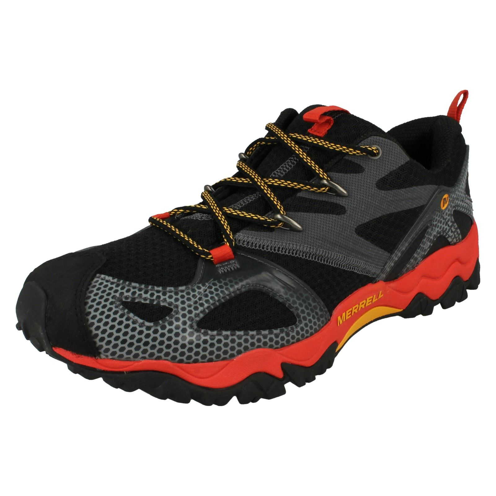 Mens Merrell Performance Trainers Lace Up Trainers Performance Grassbow Rider 5229fc