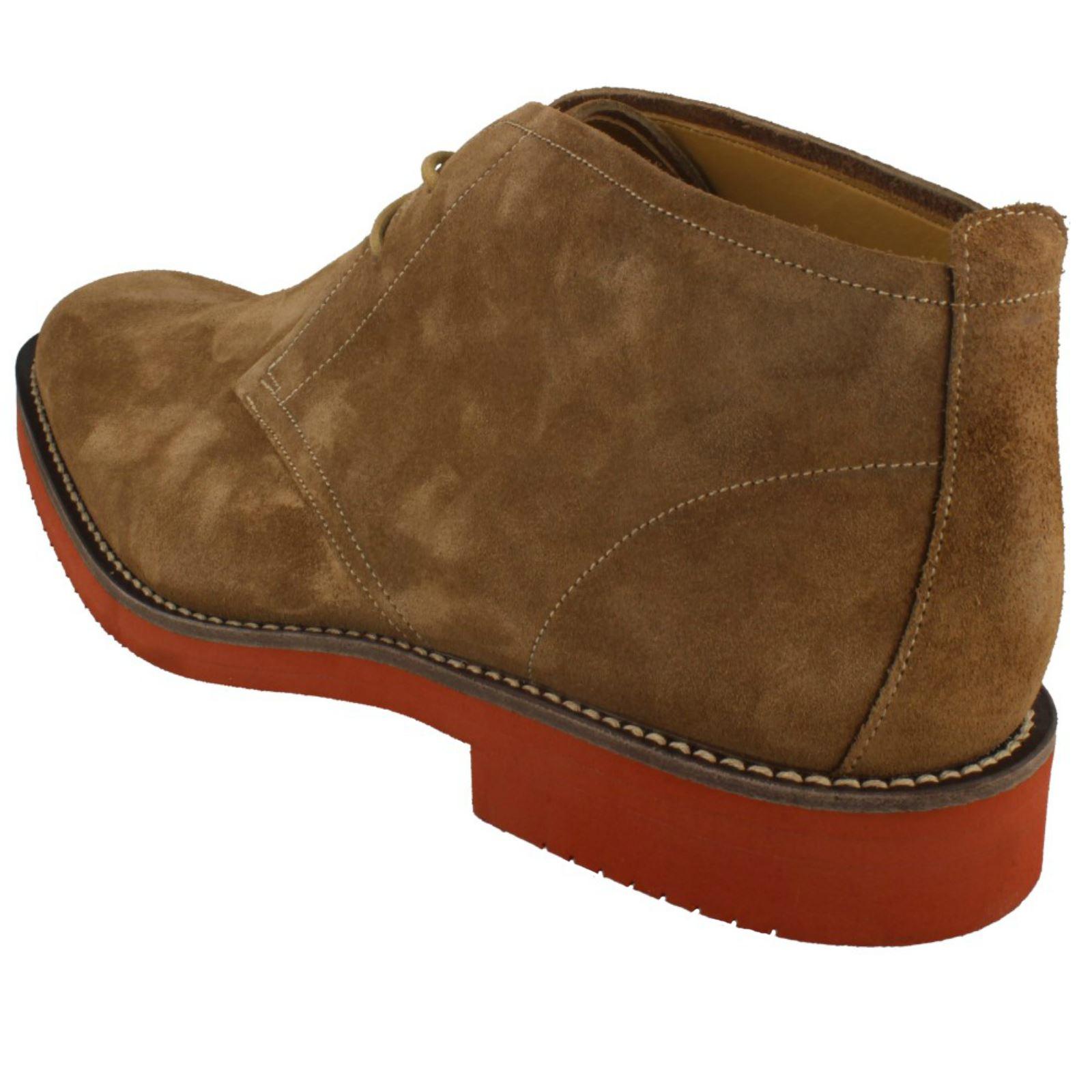 Loake Mens Desert Desert Desert Style Lace Up Stiefel Lennox e14107