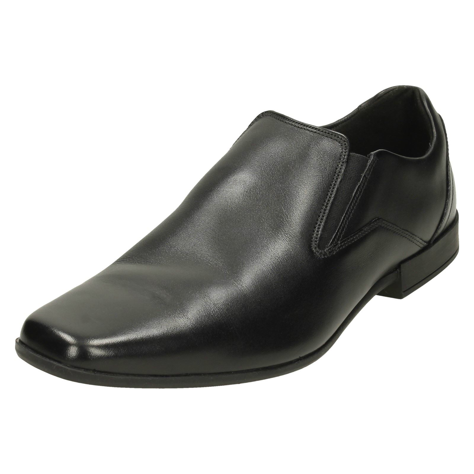 Herren Clarks Formal Schuhes Glement Slip