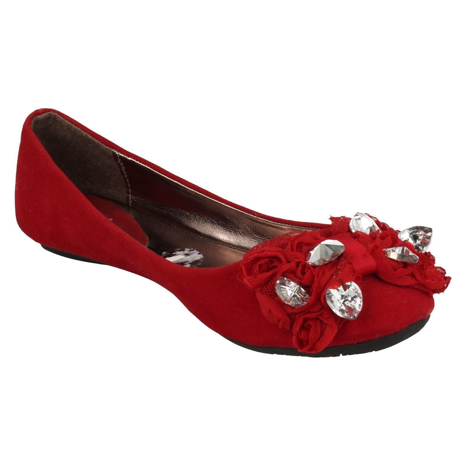 Girls Cutie Flat Ballerina Style Shoes H2226