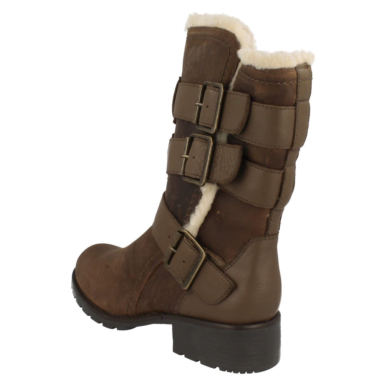 Ladies-Clarks-Casual-Utility-Style-Boots-Orinoco-Bloom