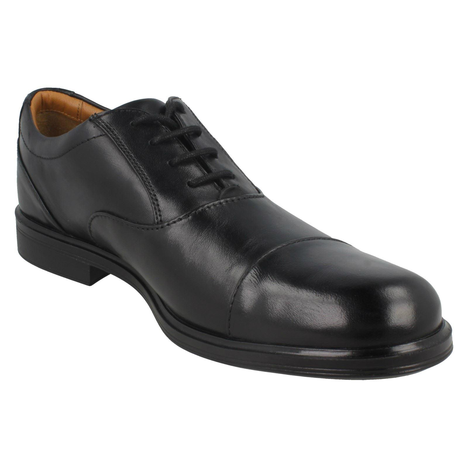 gorra formales cordones Clarks para negro hombre Oxford con de gabson ngwwdqaYx
