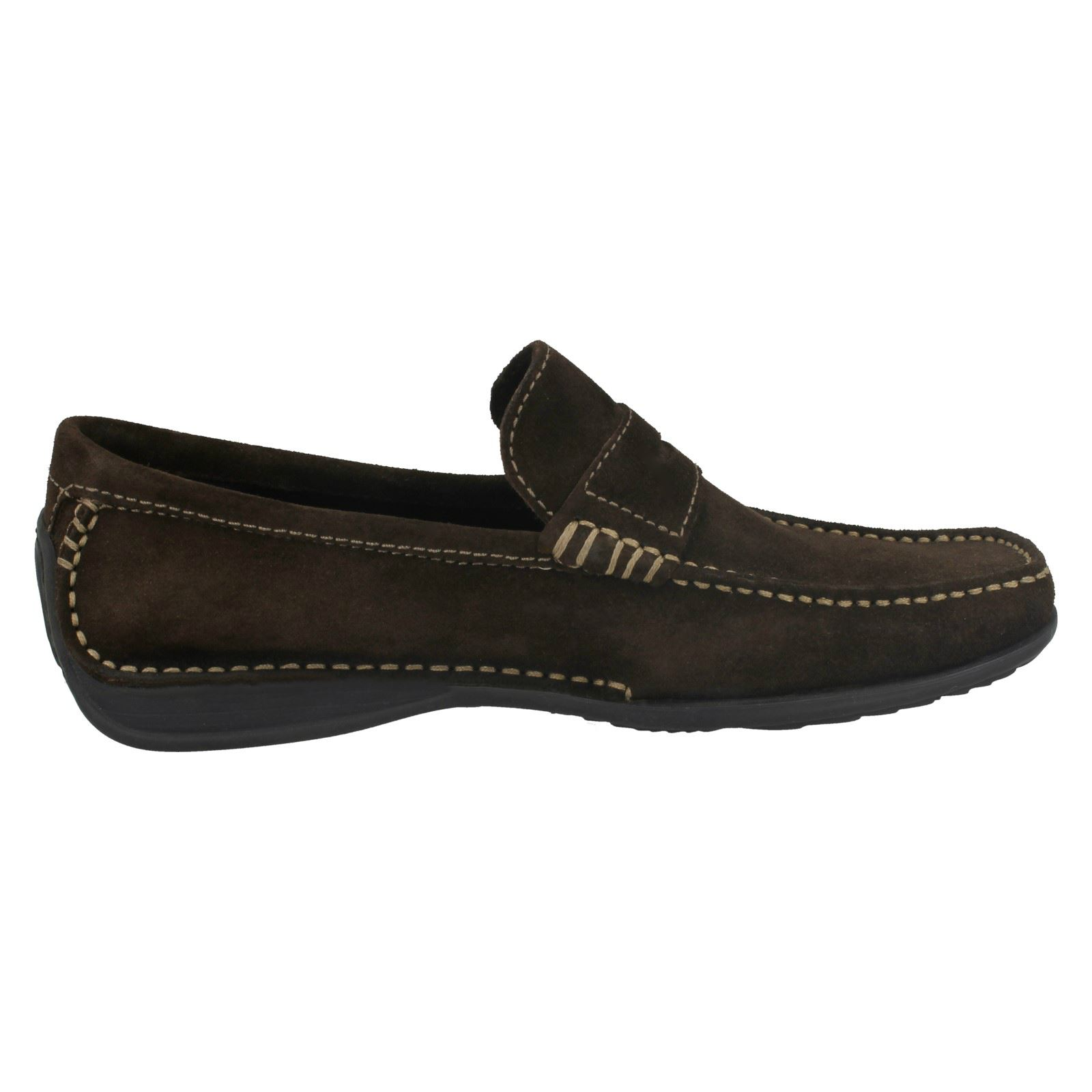 Mens Loake Slip On Loafer Shoes Cortina