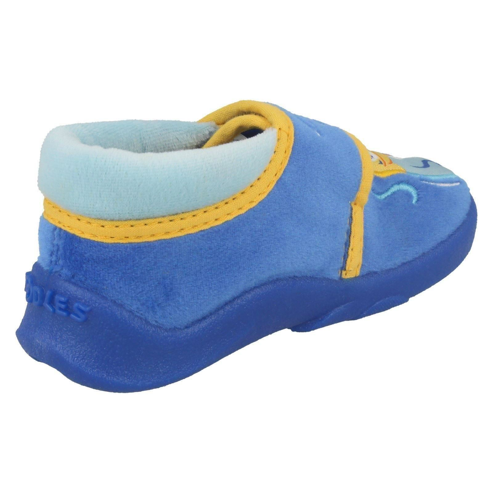 Boys Clarks Doodles Slippers Fish Soup