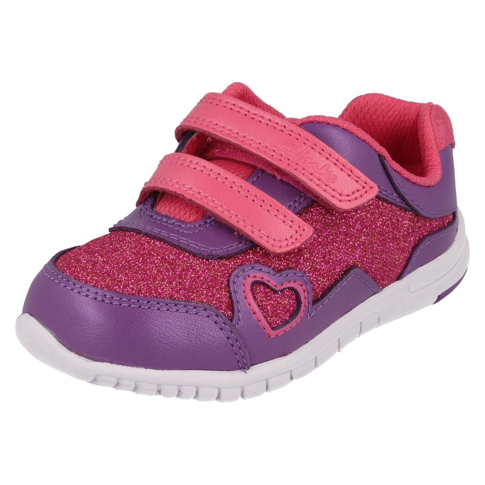 Infant Girls Clarks First Trainers Azon Maze