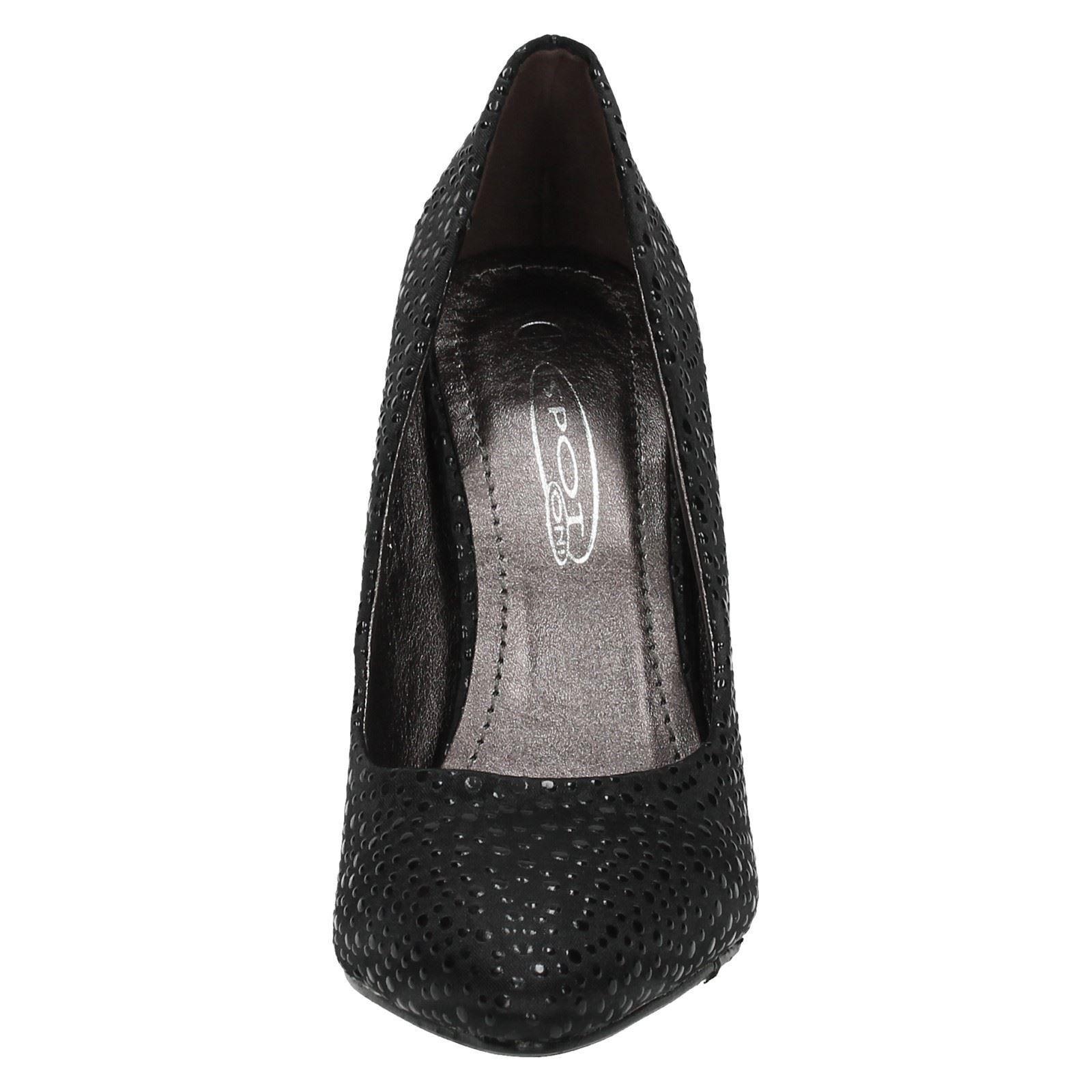 Mancha en Satén Tribunal Zapatos De Las Señoras