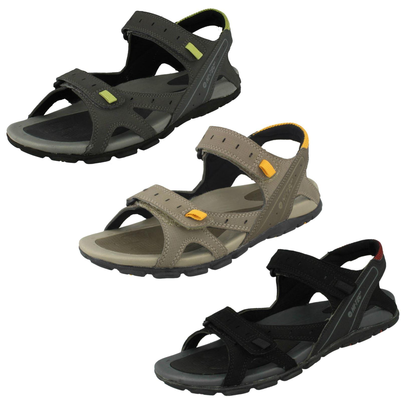 5b9e604eb31e Details about Mens Hi-Tec Casual Summer Sandals - Laguna Strap