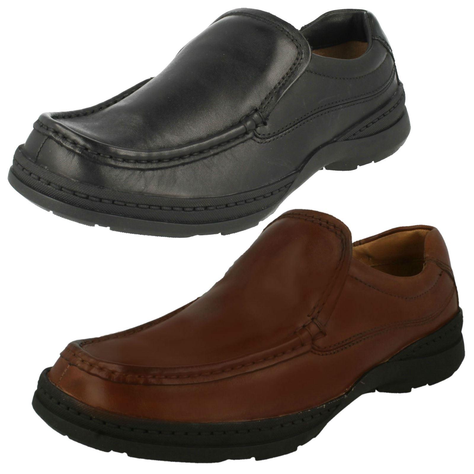 Mens Clarks Slip On Shoes Line Free | eBay