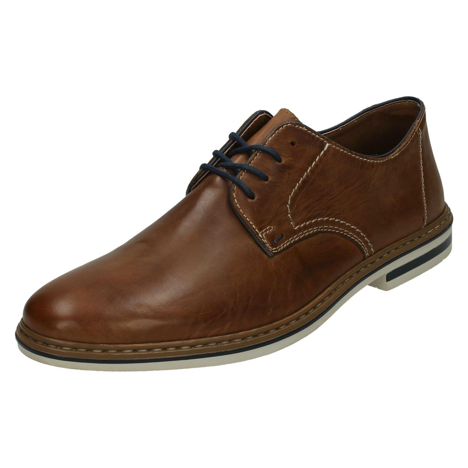 Détails sur Homme Rieker Lacets Formelle Chaussures B1422 afficher le titre d'origine