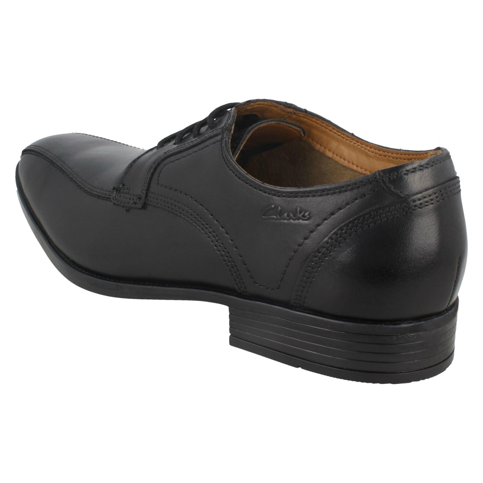 negro para Vibe con formales Kalden hombre Clarks cordones zapatos Paw7qp8nzx