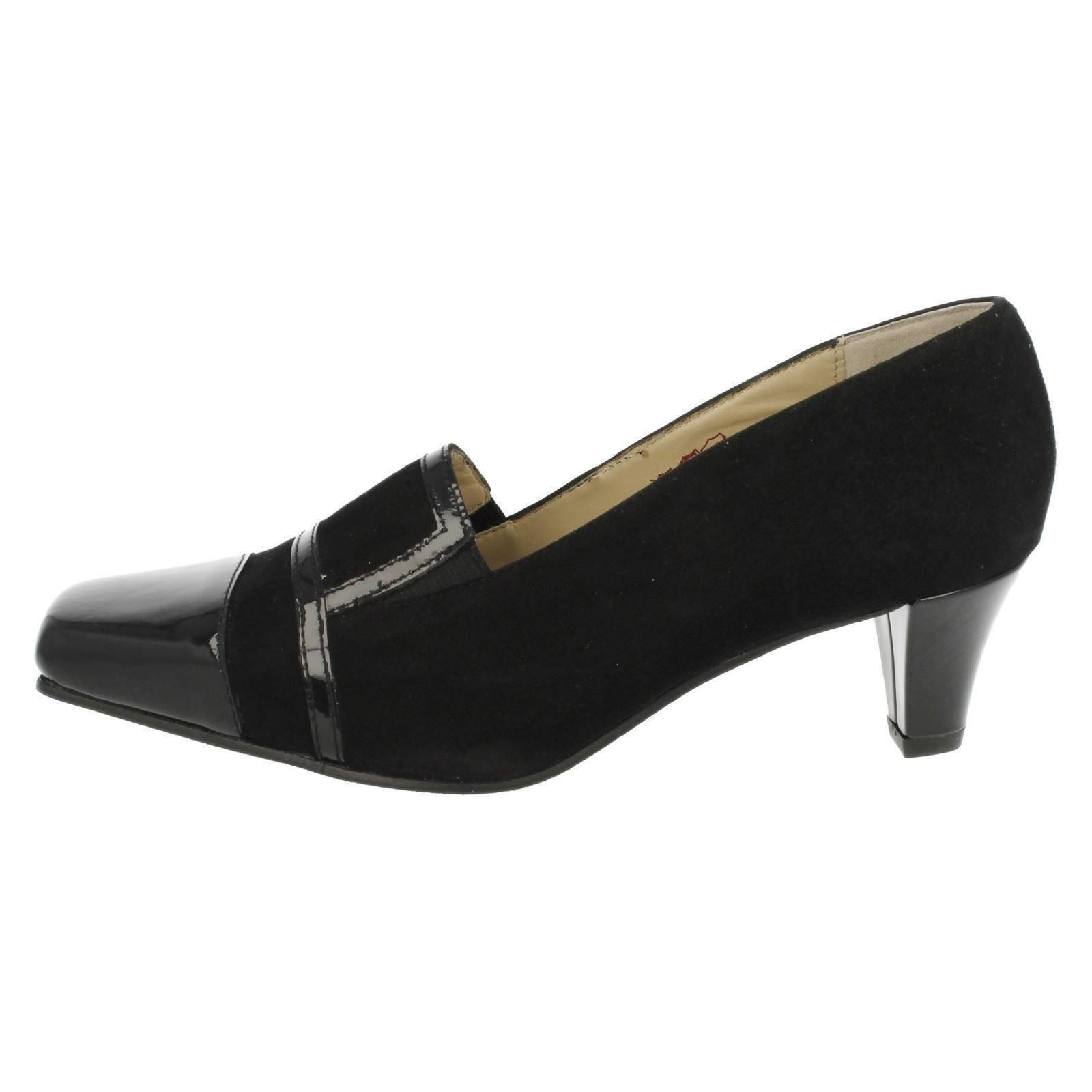 Ladies Equity Wide Fitting Trouser Shoes - Blexis