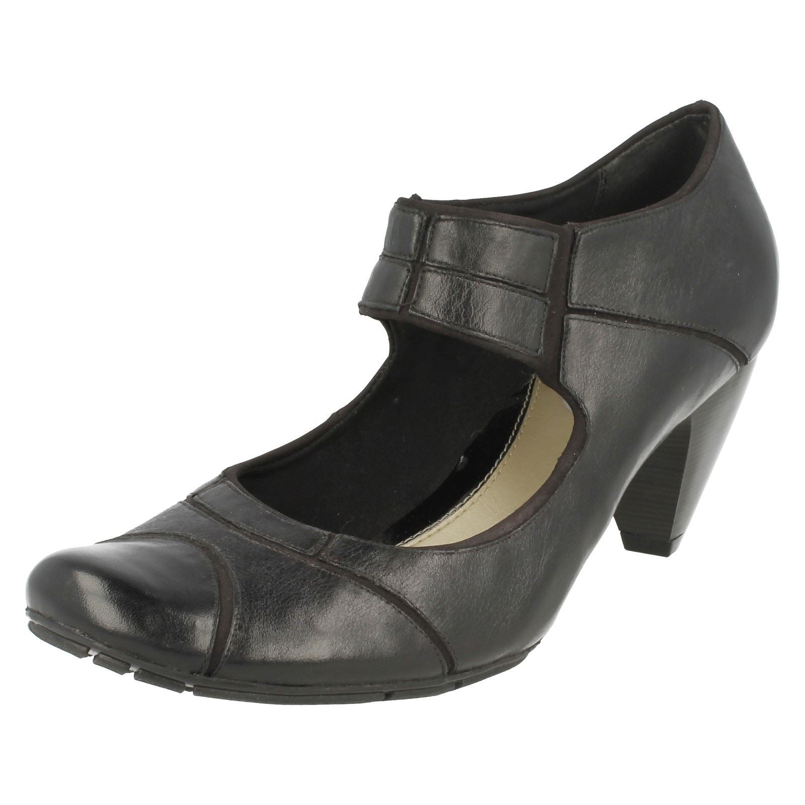 'any Black Smart Ladies Softwear Place' Shoes Clarks wq0IPOa