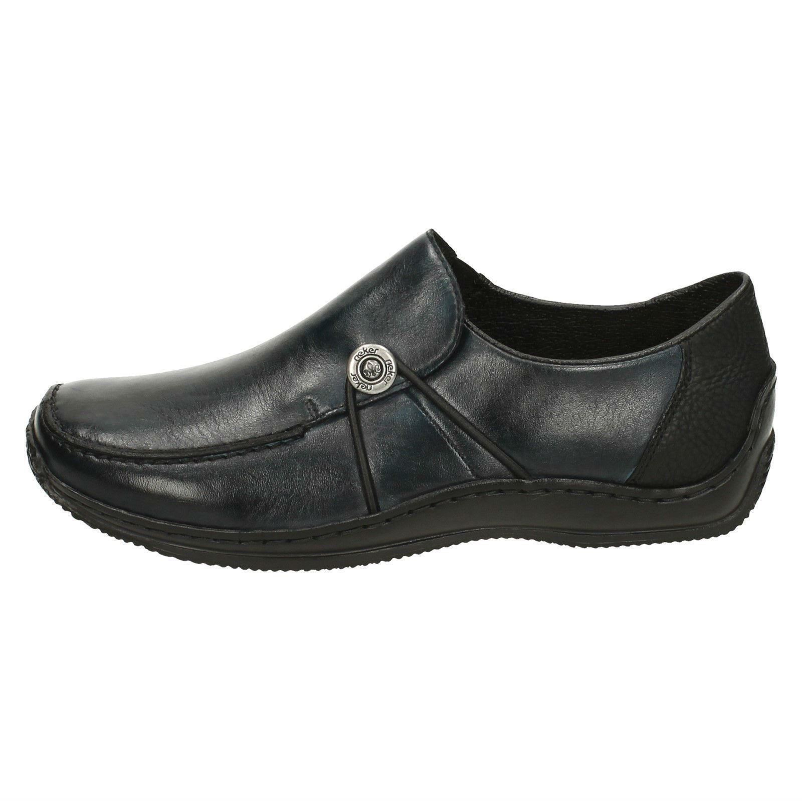 Rieker Rieker Rieker Ladies Casual Flats With Button Detail 'L1781' 21ef2e