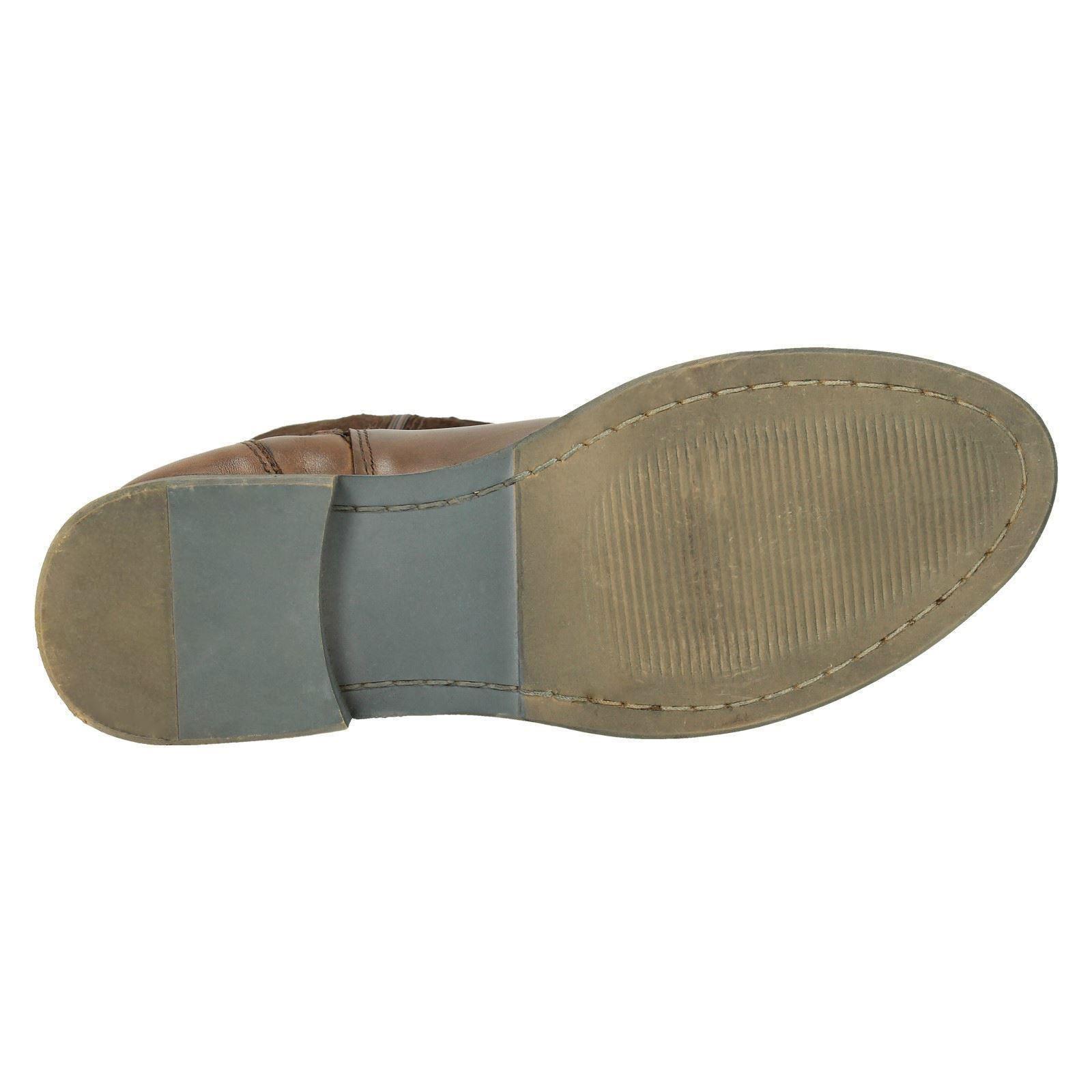 Colección de Botas cuero señoras de cremallera Sujeta la Rodilla Botas de Altas 011b49