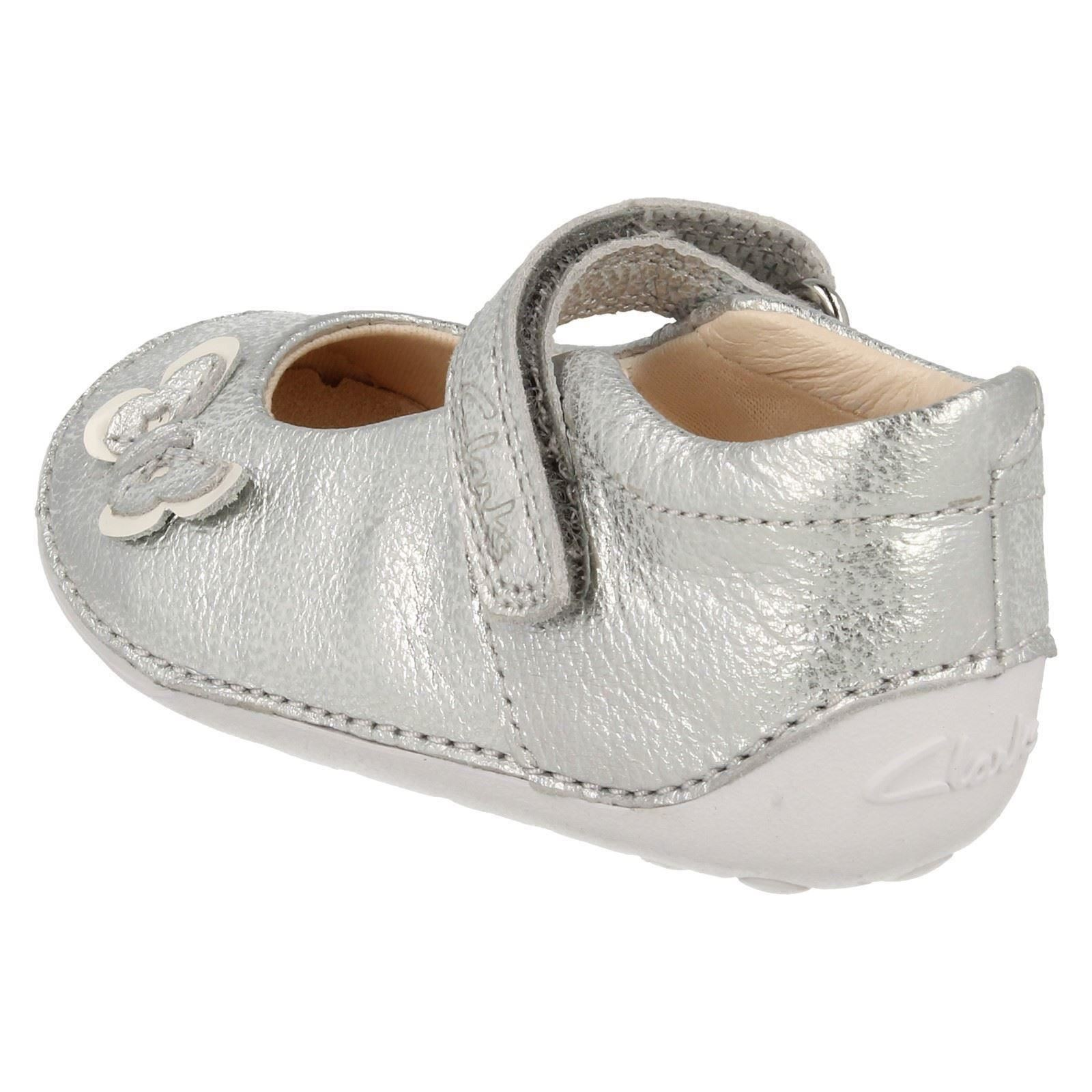 Baby Toddler Girls Clarks Leather Pre Walker First Cruiser Shoes