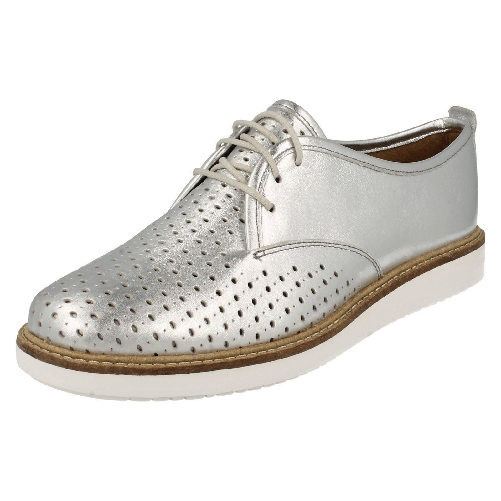 Ladies-Clarks-Casual-Shoes-039-Glick-Resseta-039