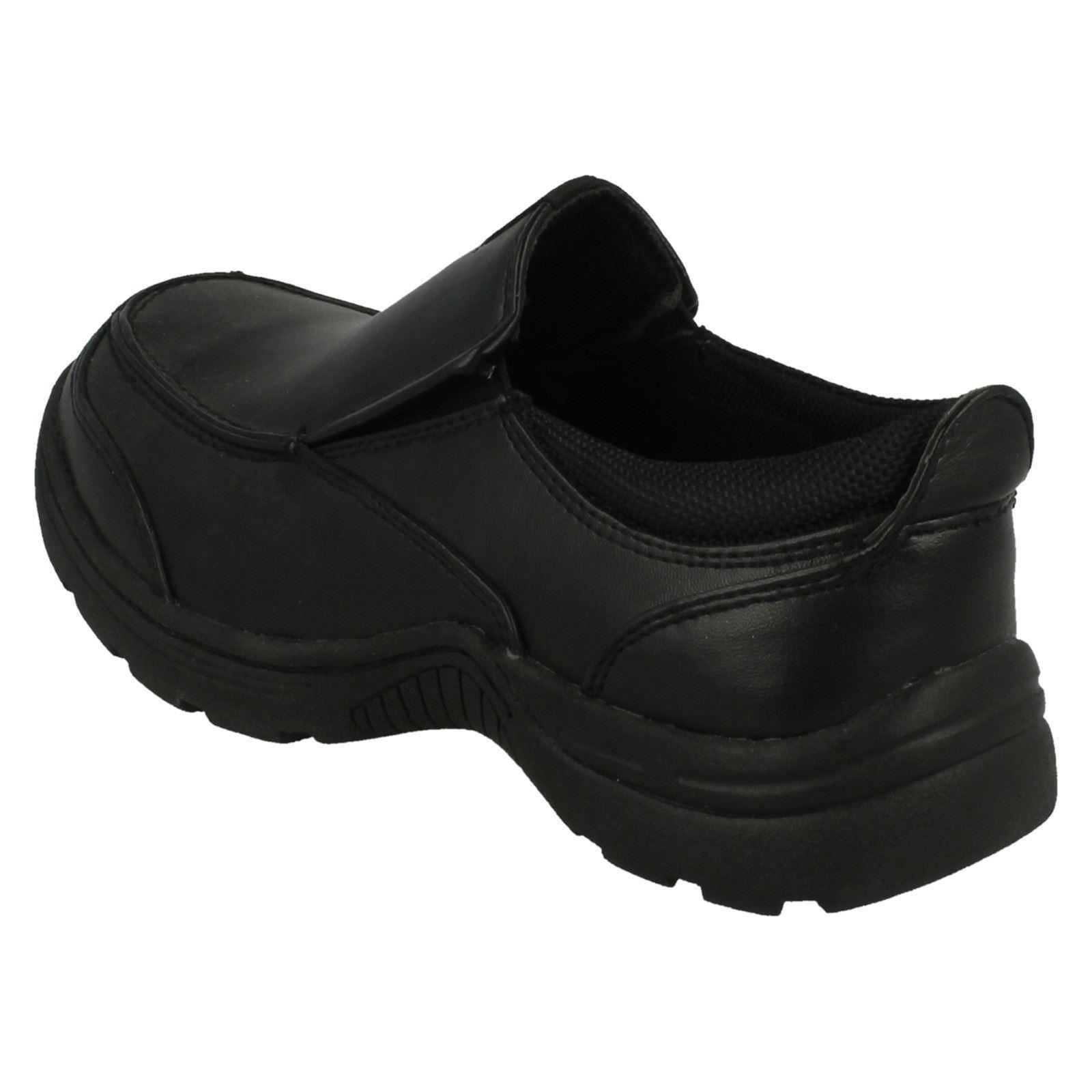 Boys Cool For School Twin Gusset Slip On Shoes