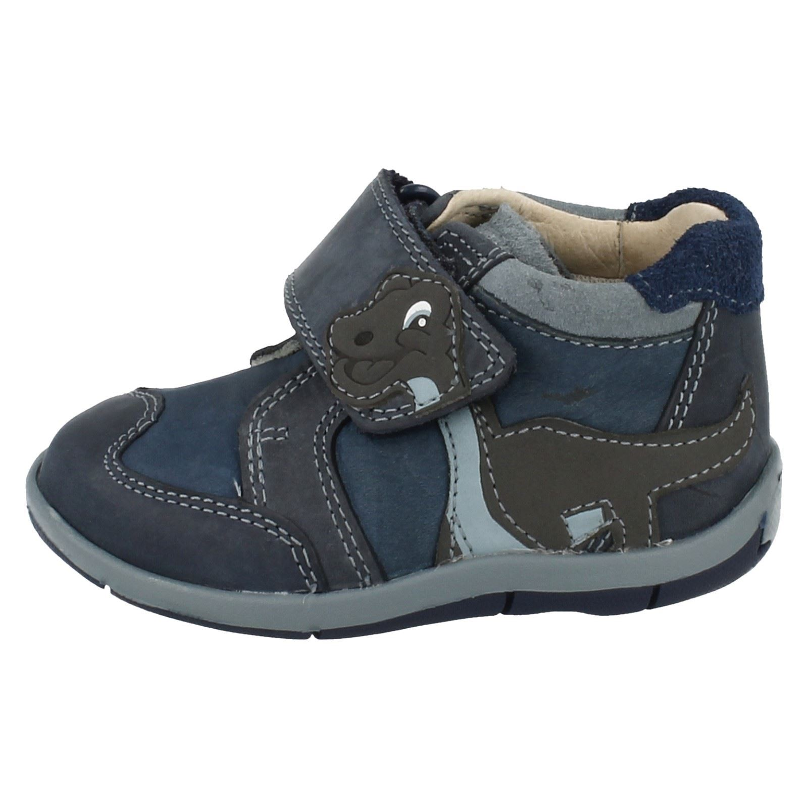caminar niños Clarks de Botas Time Blue para Diplo First AzOqtP