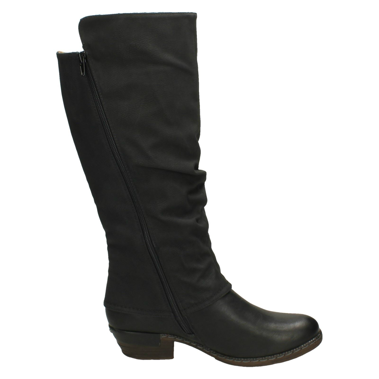 'Ladies Rieker' Knee High High High Casual Boots - 93655 90b339