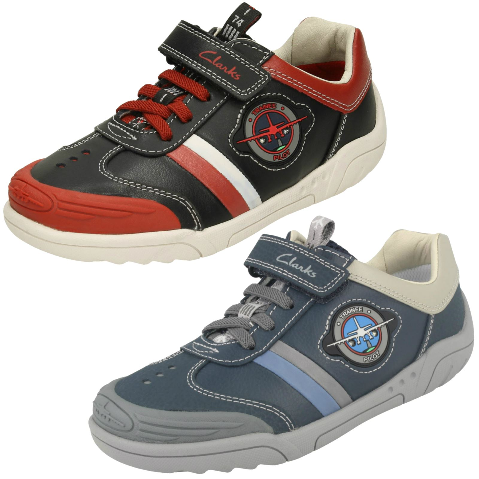fighter clinkard charles up boys geox junior trainers light shoes