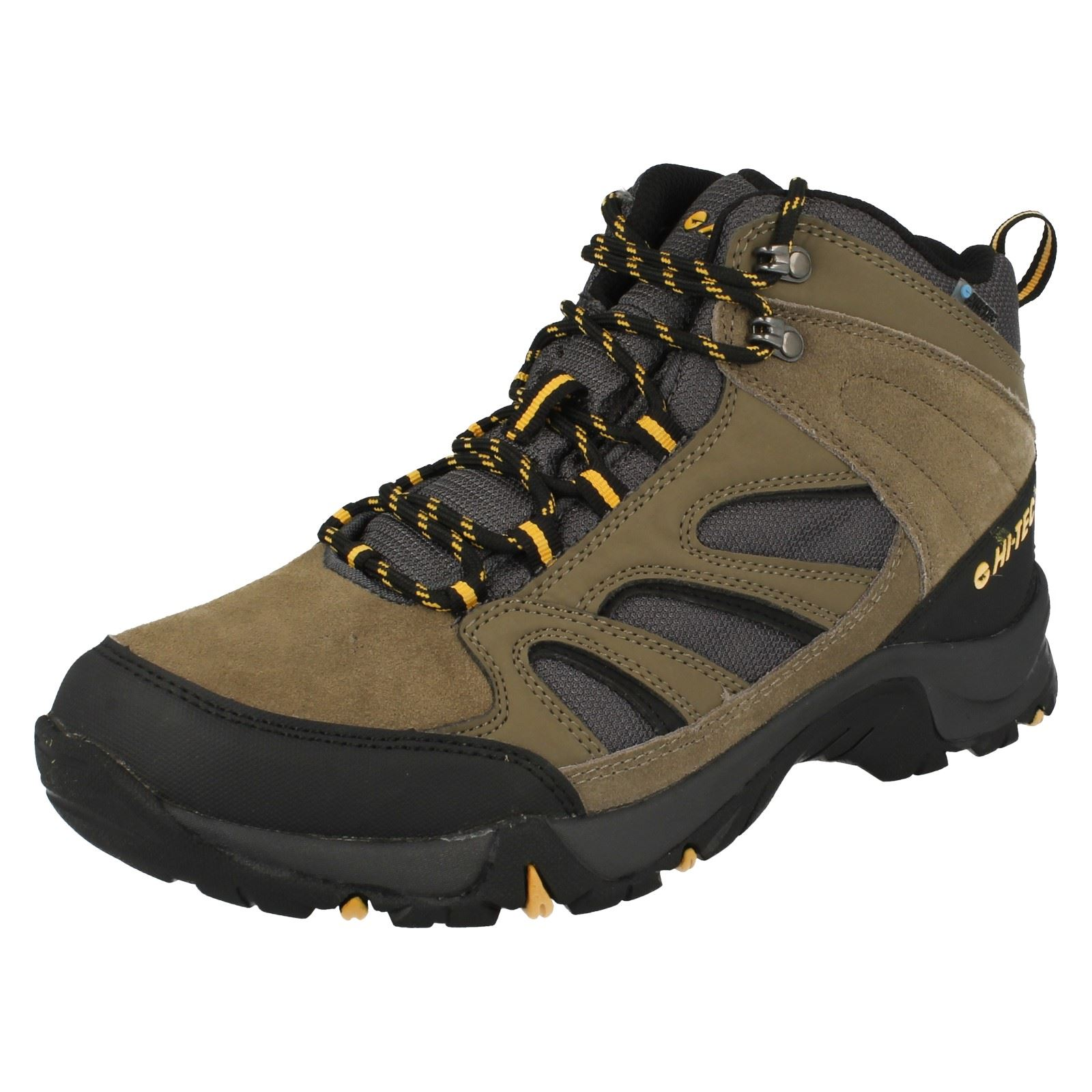 Mens Hi Tec Waterproof Walking Boots Idaho Wp Ebay