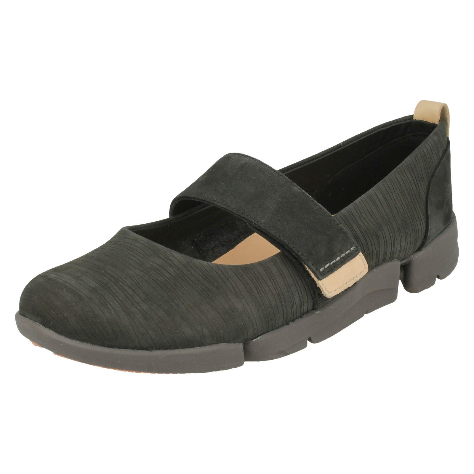 About Casual Details Clarks Sporty Mary Jane Tri Ladies Carrie Style Trigenic Flat Shoe pUzMSV