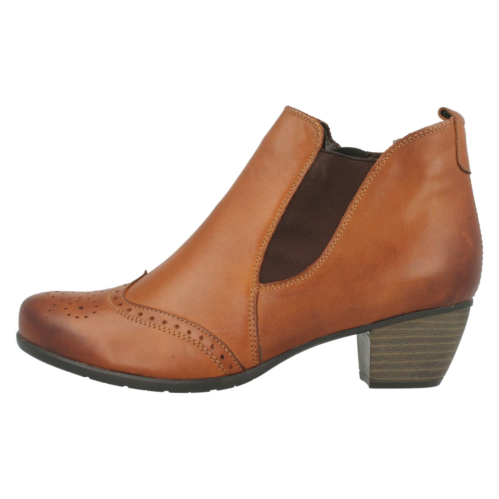 Ankle Ladies Boots Brown 'r9187' Remonte S5qOR5