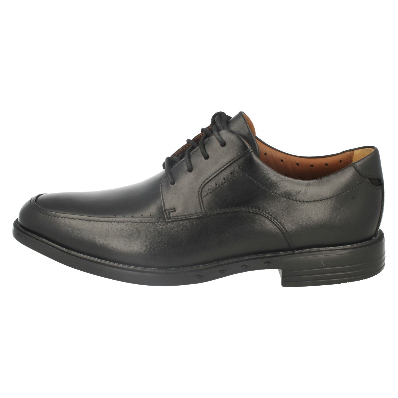 Clarks Formal 'unbizley Nero Unstructured View' Scarpe stringate Mens PdAqwP