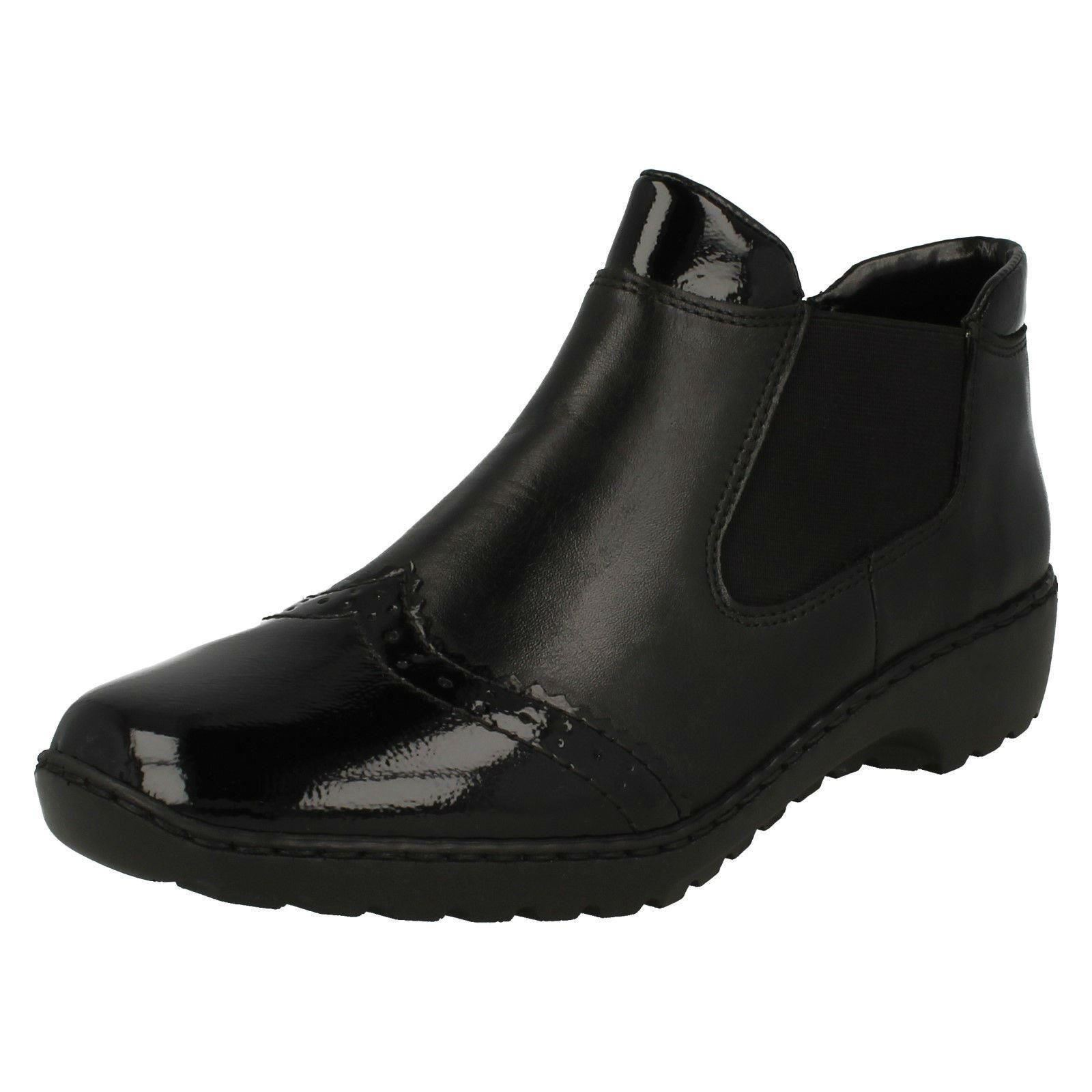 Damenschuhe Rieker Brogue InspiROT Stiefel L6099 - L6099 Stiefel 7c025f