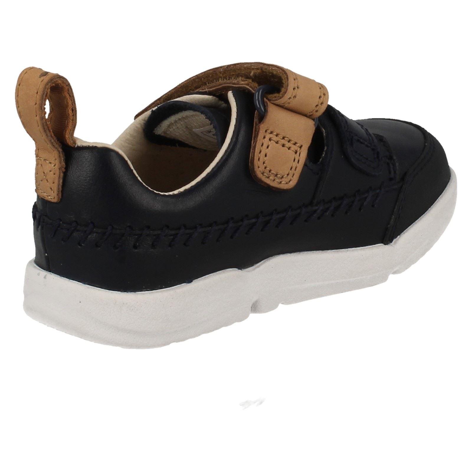 Clarks niños azul Tri caminar Navy para Aspire Primeros para zapatos RqZHXX