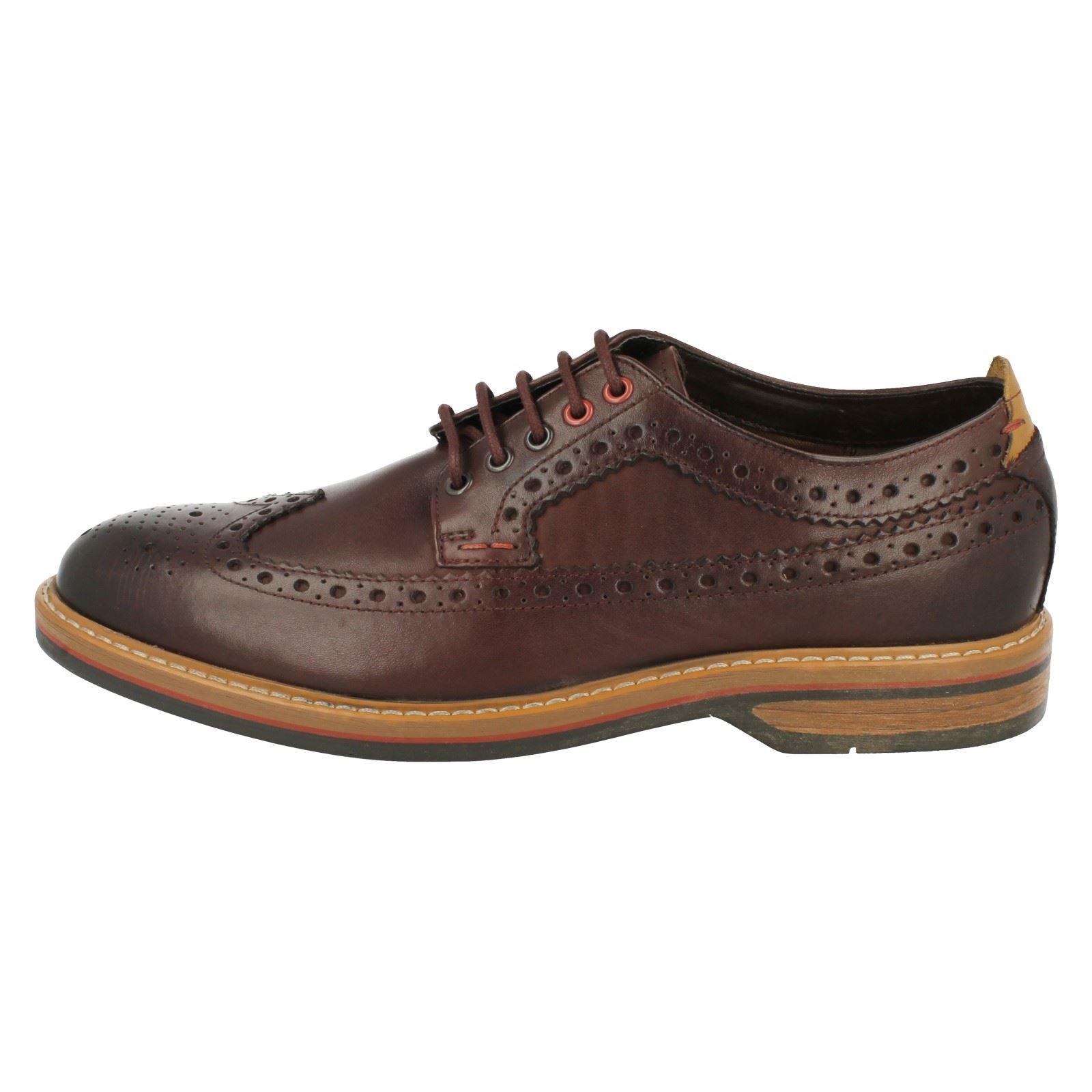 Limit Calzado hombre estilo marrón casual elegante Clarks Chestnut Pitney para brogue Epqn8