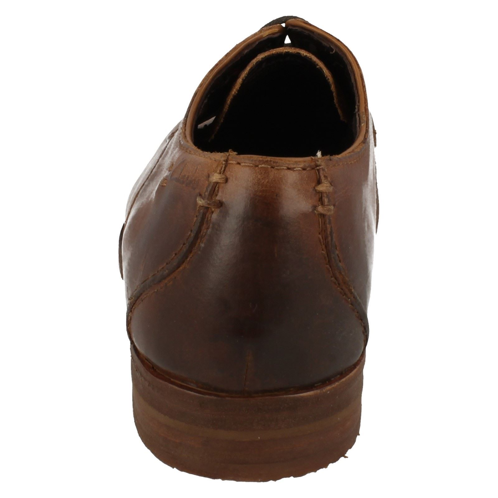 Clarks brown Tobacco Shoes Formal Walk' Mens 'go For FRqSSw6