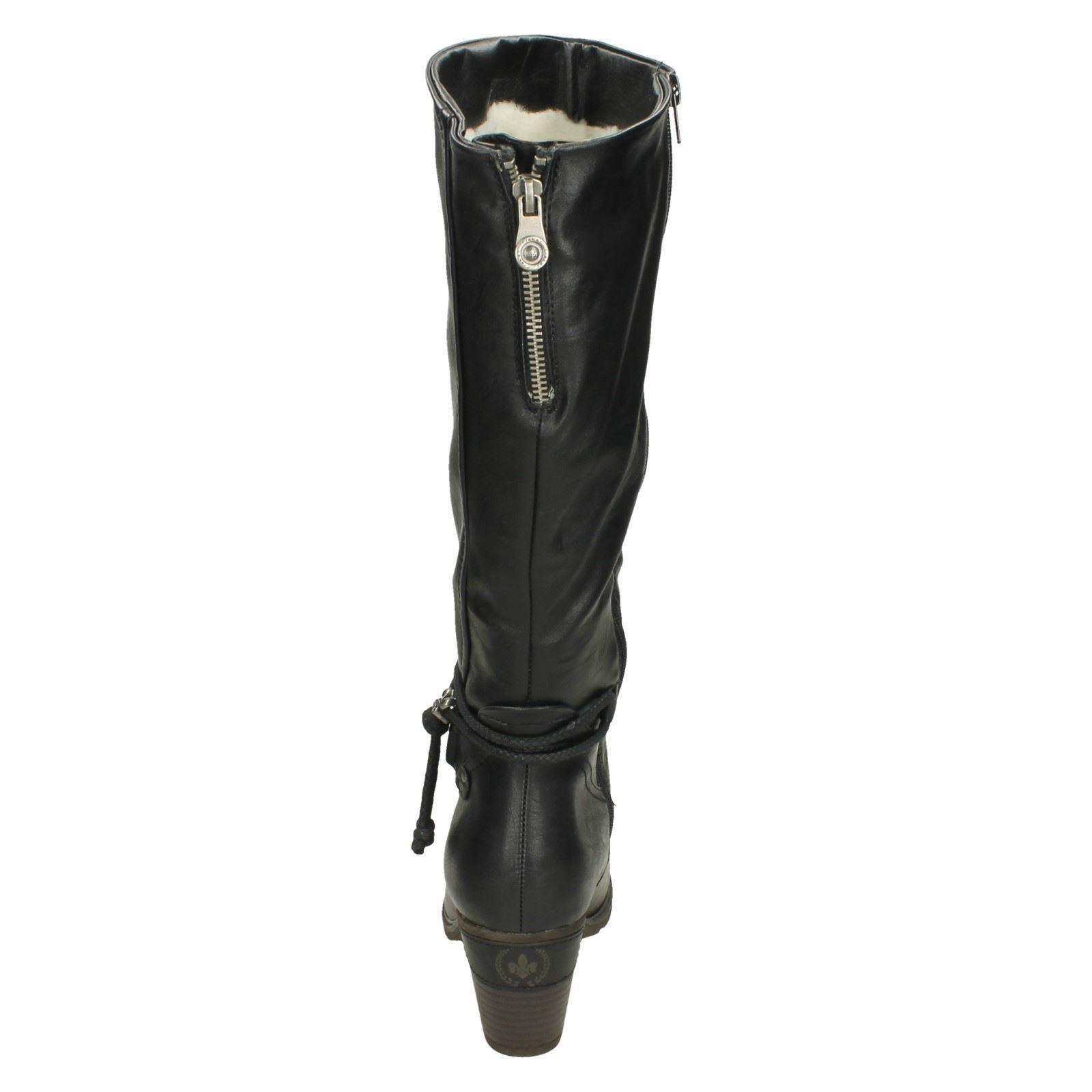 Mujeres Rieker la altas' rodilla botas altas' la 96059' 7fcd92