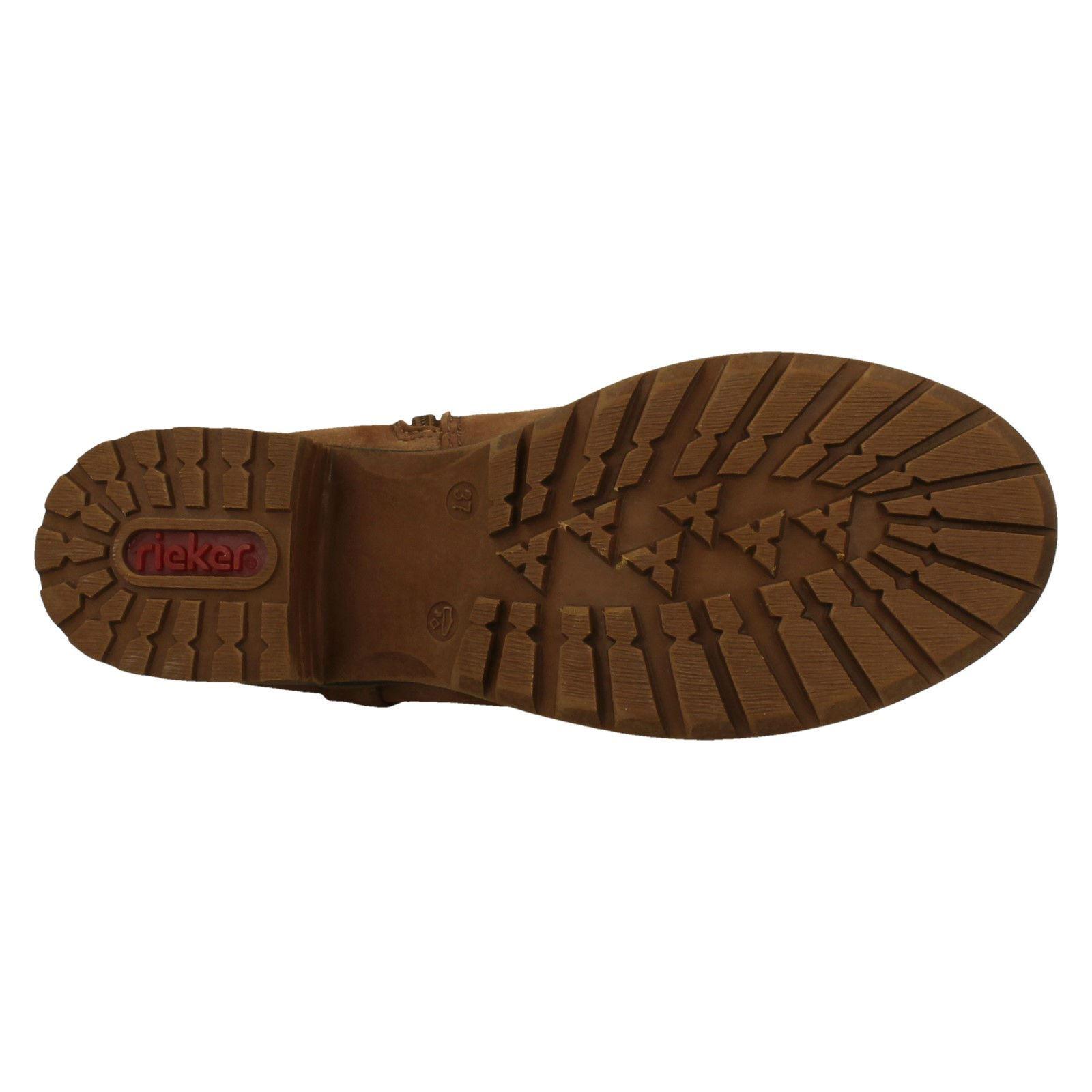 'Damas Rieker' Cremallera botas - 96854 96854 - 8c1e58