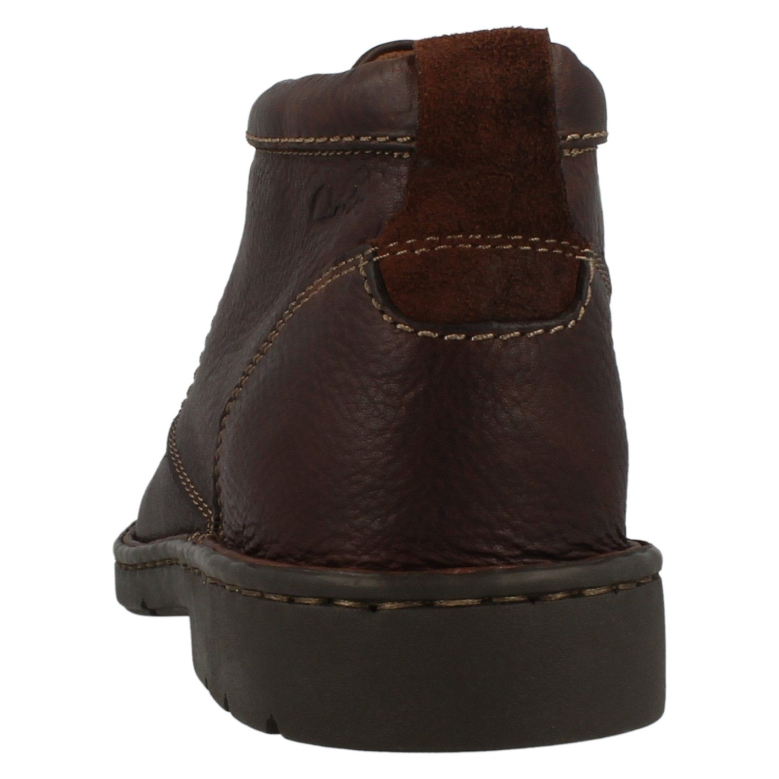 mens clarks wide fitting smart boots stratton limit