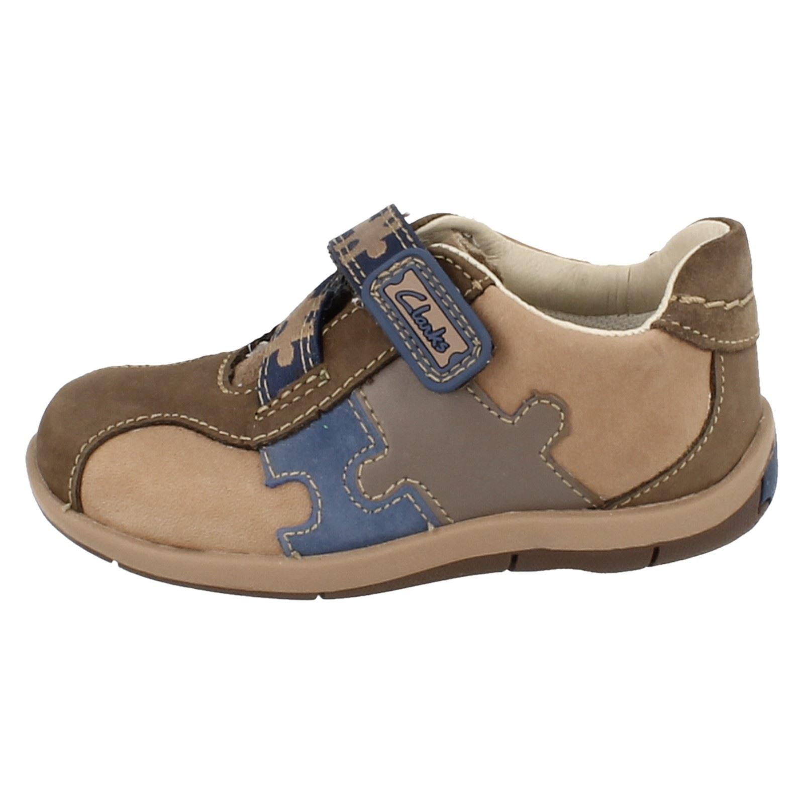 6f85f58173716 Boys Clarks First Shoes 'Plane Puzzle' | eBay