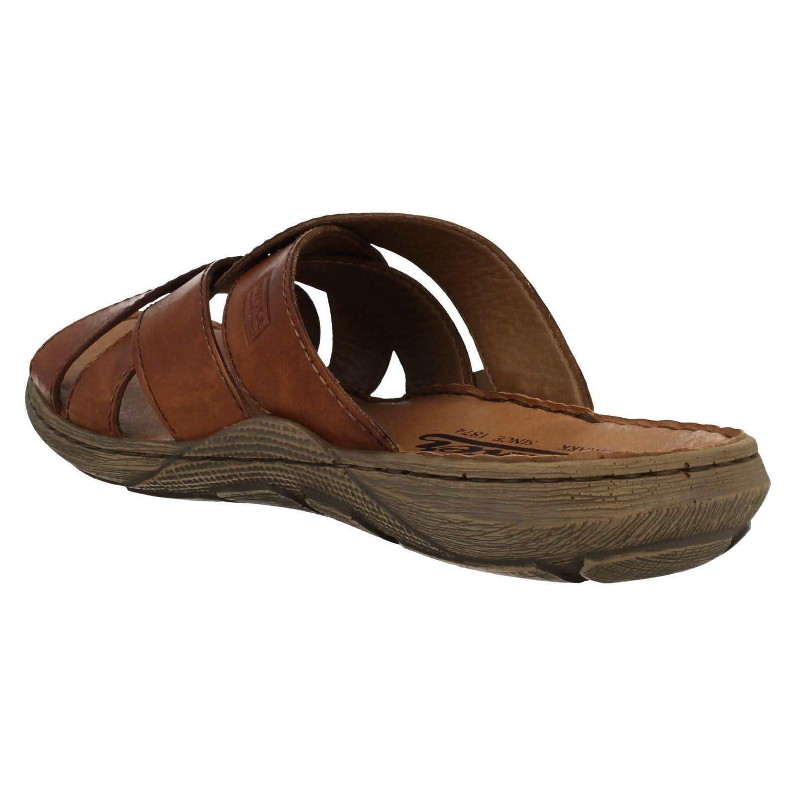Sandals Marrone Mens Summer Slip On 22098 Rieker x1YqIYwng