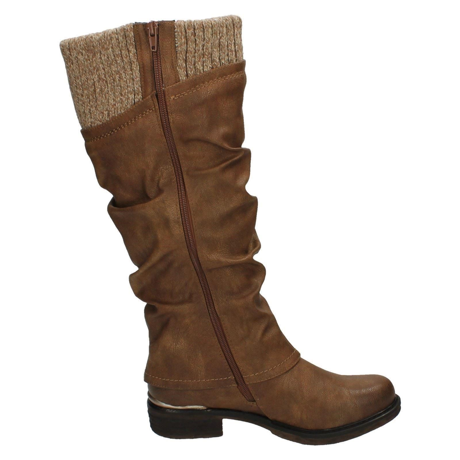 Ladies Rieker All Weather Long Boots 98956 Ebay