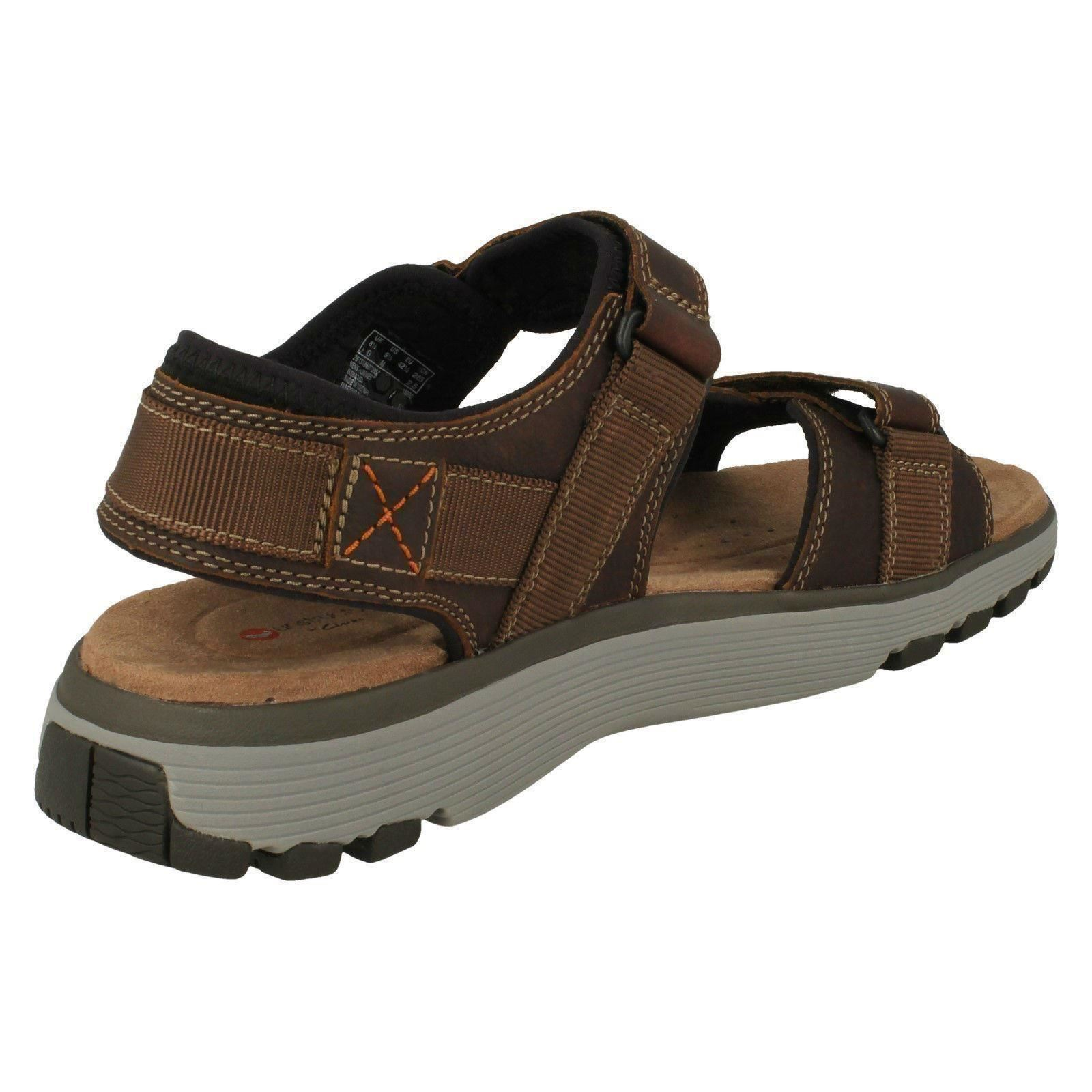 Mens Clarks Casual Strapped Trek Sandals *Un Trek Strapped Part* 94d2cc