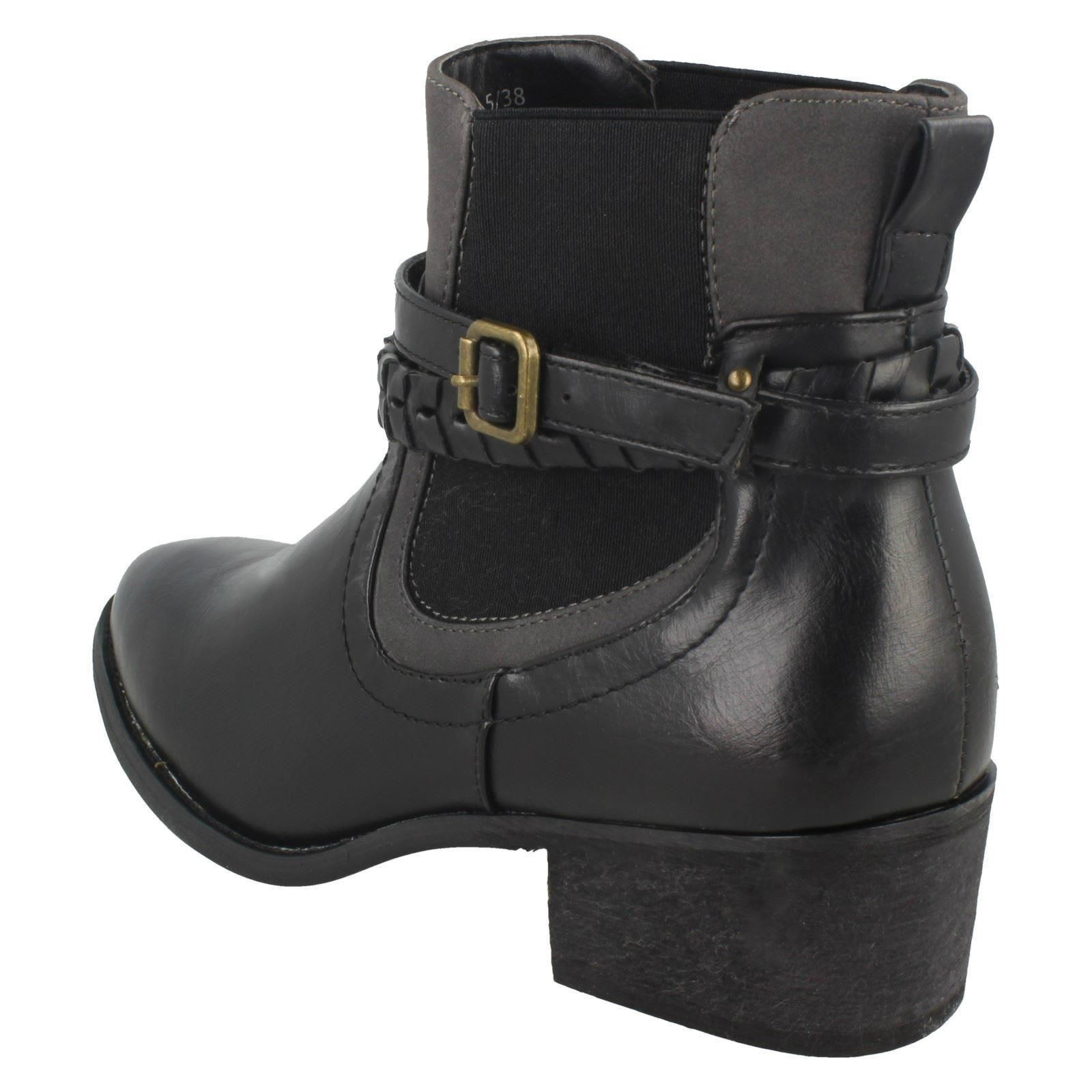 Damenschuhe Down To Earth Earth To Heeled Ankle Stiefel 7c0ade