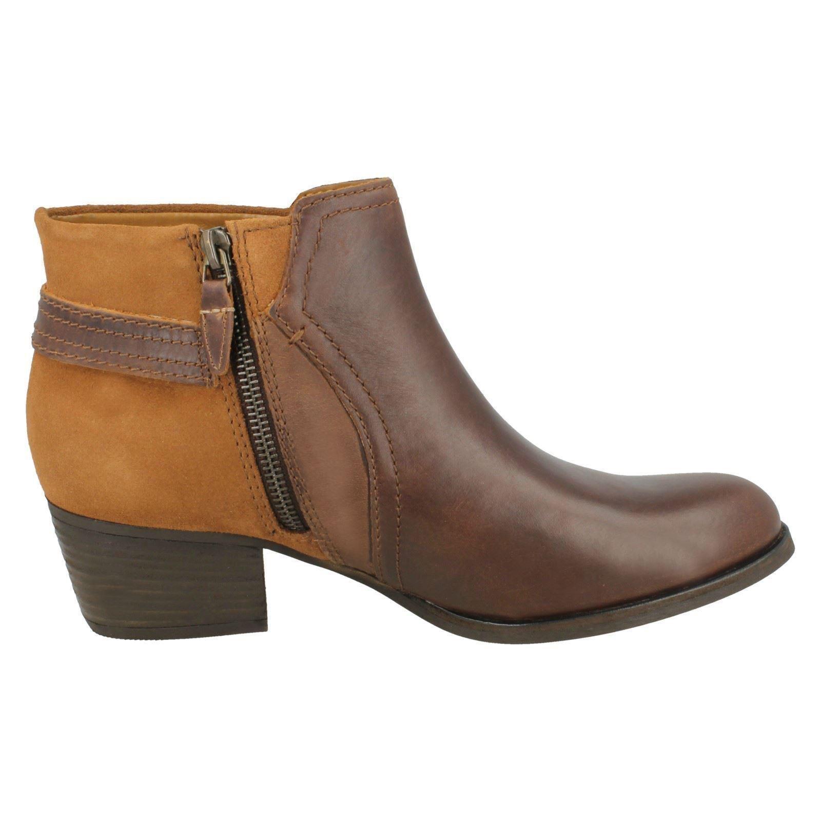 Clarks Damas botas maypearl al Tobillo maypearl botas púrpura 8793dc