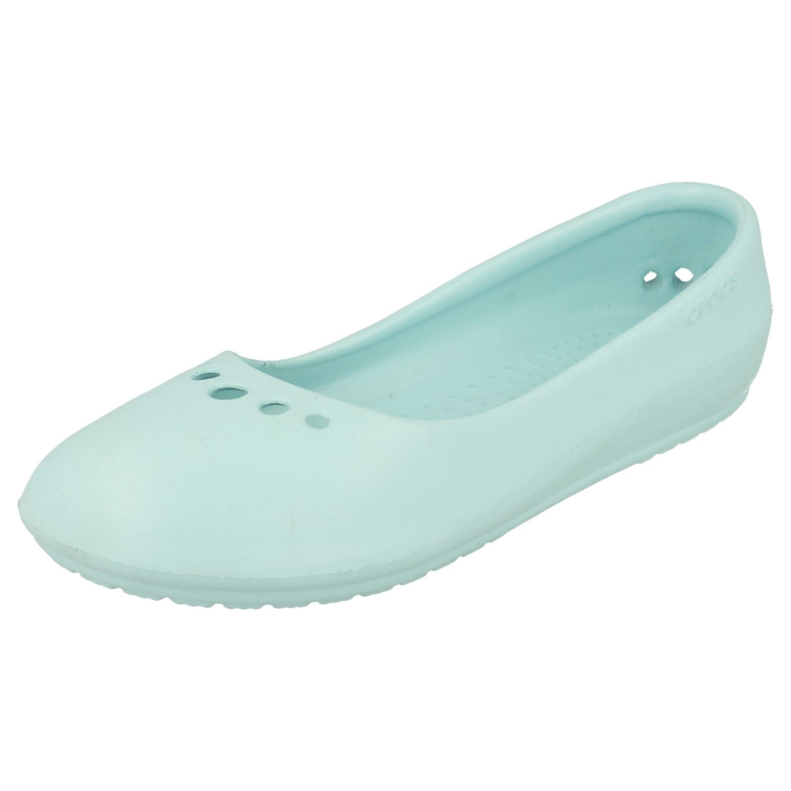 9d1685170f902b Ladies Crocs Ballerina Shoes Prima Sea Foam UK 2 Standard. About this  product. Picture 1 of 10  Picture 2 of 10 ...