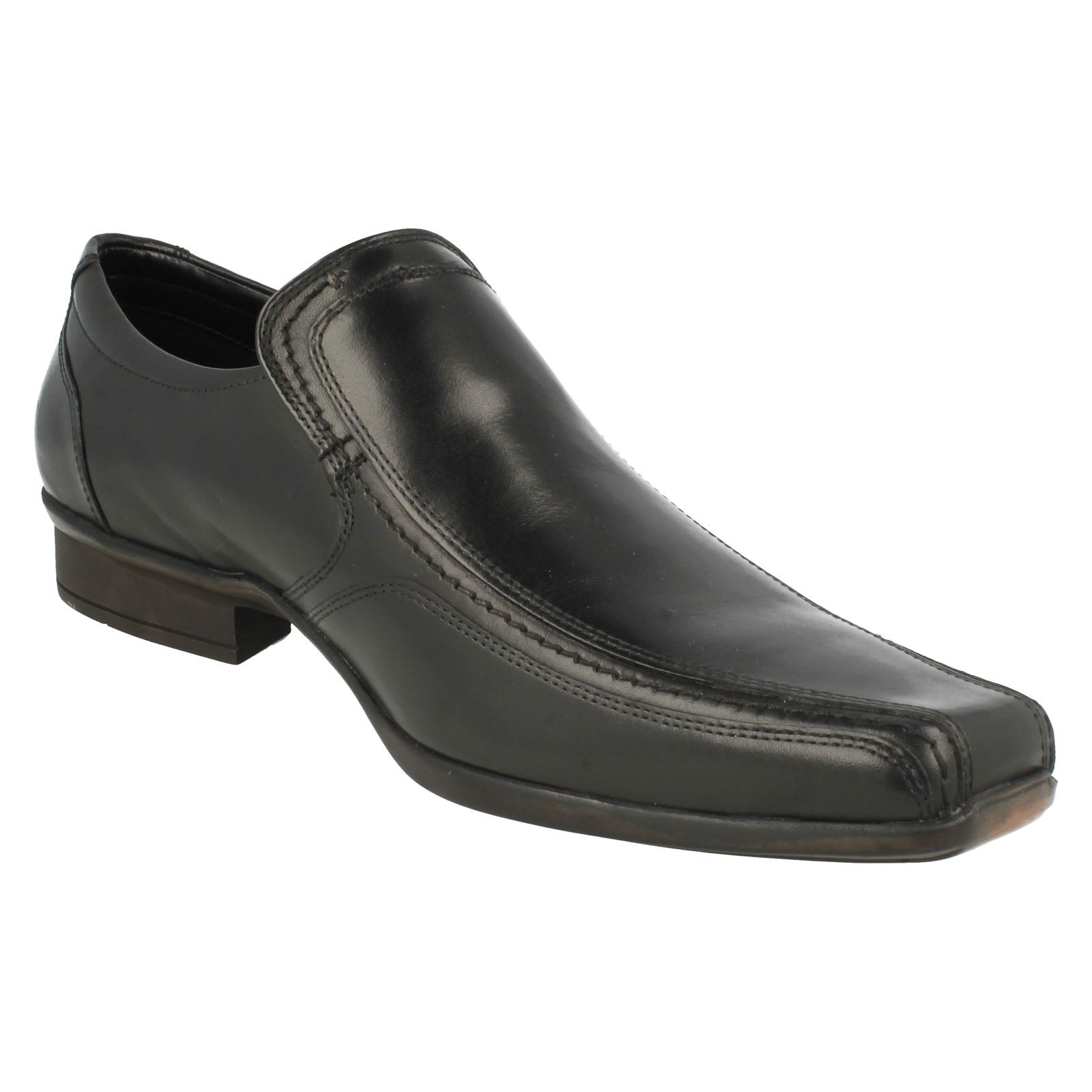 Herren Clarks Affix Step Formal Slip On On Slip Schuhes 74a4ba