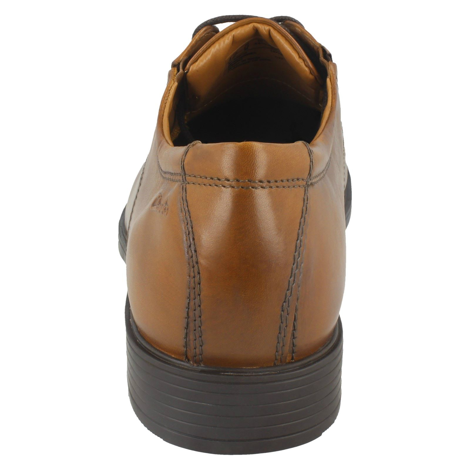 Mens-Clarks-Formal-Lace-Up-Shoes-Tilden-Cap thumbnail 27